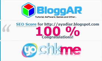 Cara Mudah Mendapatkan SEO Score 100% di chkme