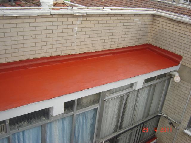 Impermeabilizar el suelo de la terraza fotos de for Impermeabilizar terraza transitable