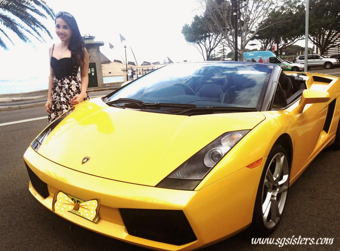 I Love My Yellow Lamborghini Gallardo Spyder :)