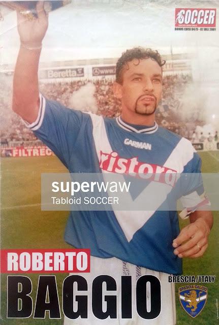 Roberto Baggio Brescia 2001