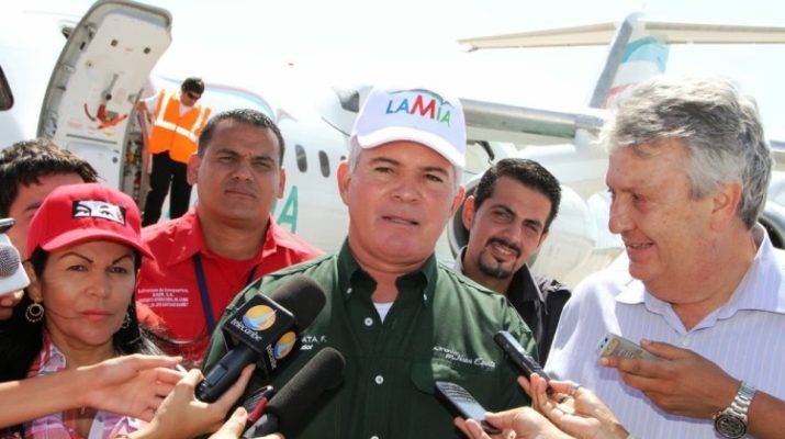 Capitales venezolanos están detrás de la línea aérea boliviana que protagonizó siniestro hace un año