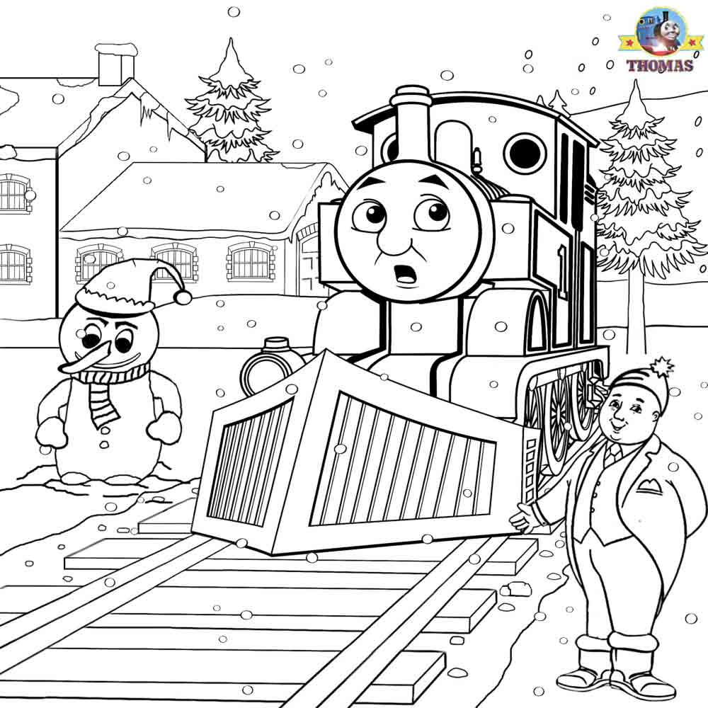 thomas friends coloring pages free - photo#26