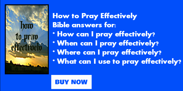 How to pray effectively pdf book
