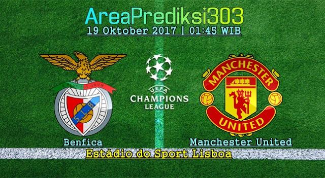 Prediksi Jitu Benfica vs Manchester United 19 Oktober 2017