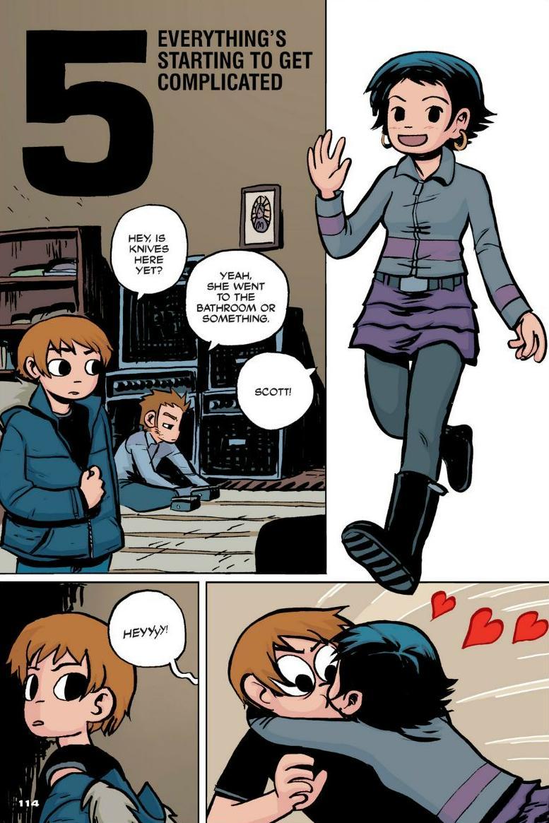 Read online Scott Pilgrim comic -  Issue #1 - 104