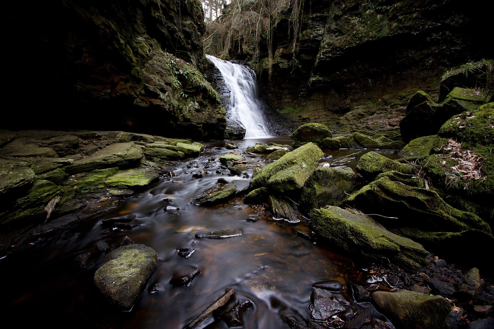 25 days out, events and things to do with kids in Northumberland National Park - Hareshaw Linn Waterfall