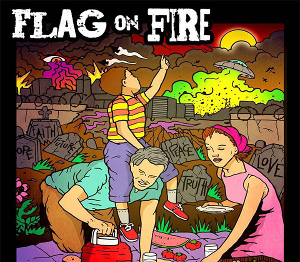 "Flag On Fire stream new song ""Adventures In Risk Management"""
