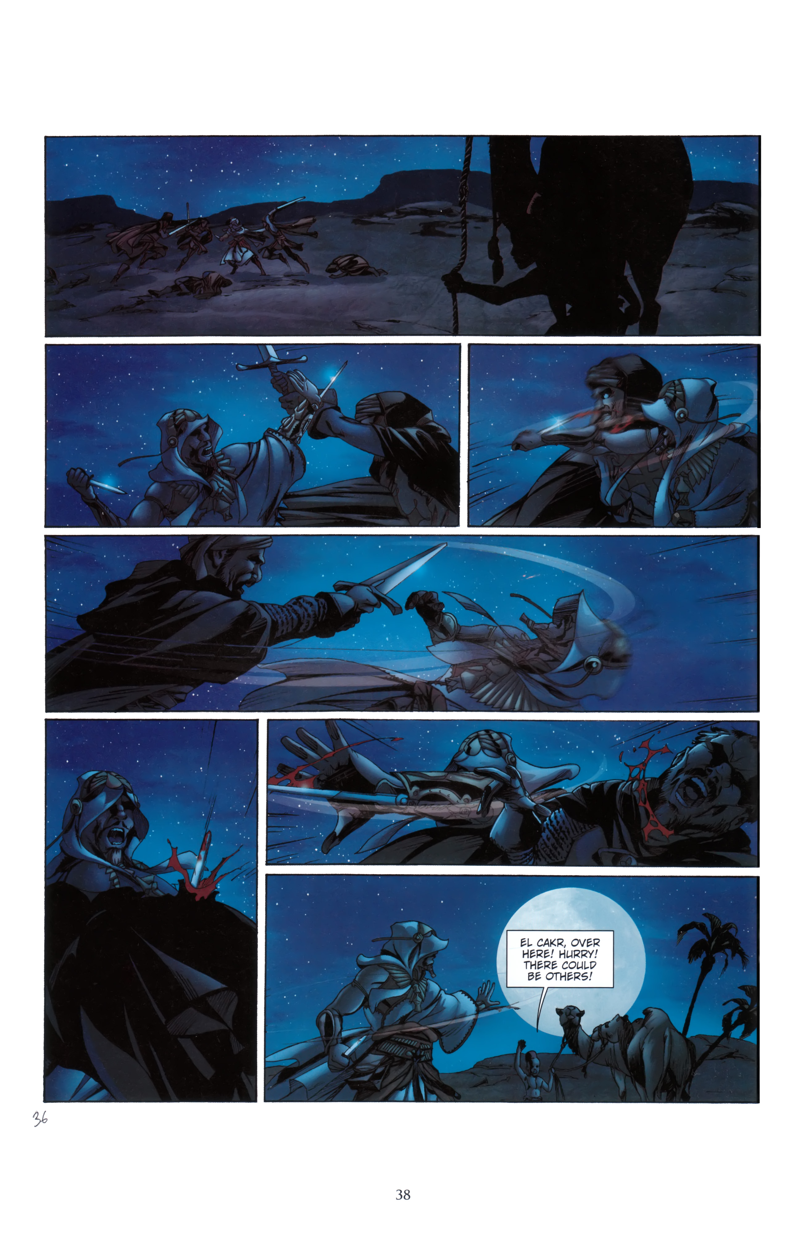 Read online Assassin's Creed (2012) comic -  Issue #5 - 38