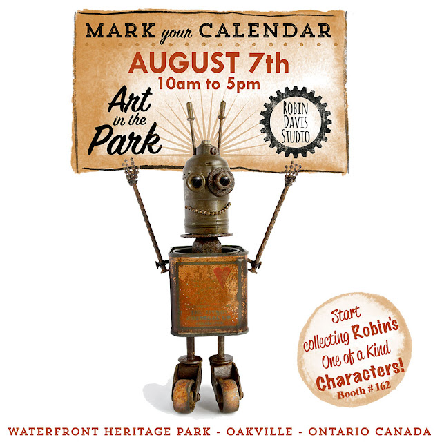 Art in the Park Oakville Ontario - Robin Davis Studio