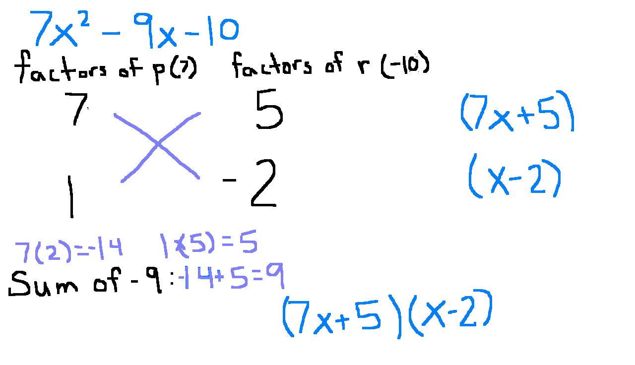 Math Worksheet Factoring Binomials - free math worksheets ...