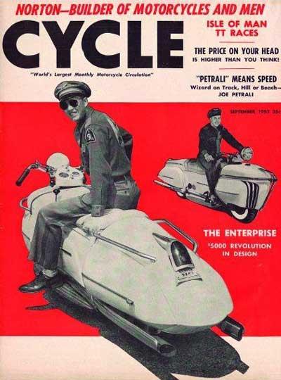1952 Cycle Magazine Enterprise Motorcycle