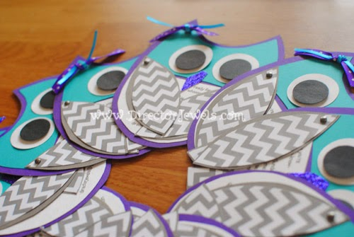 director jewels adorable purple teal owl birthday party invitations