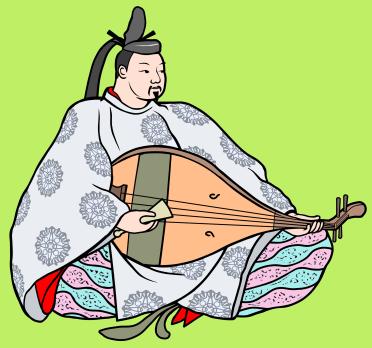 藤原師長(ふじわらのもろなが)の琵琶