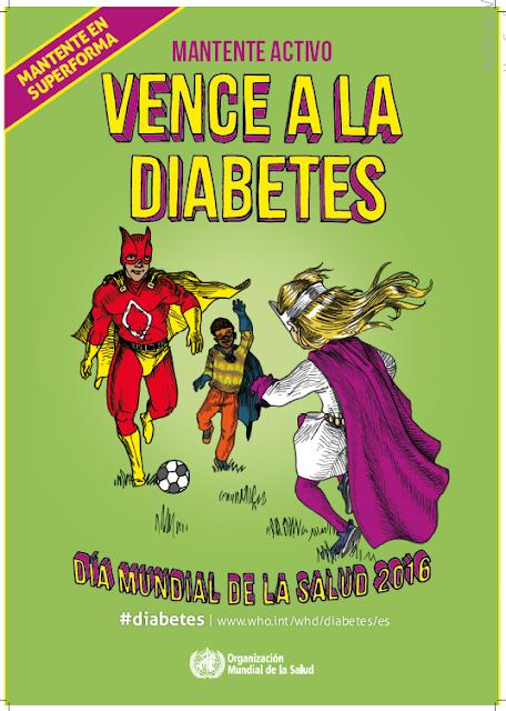 vence a la diabetes - mantente activo