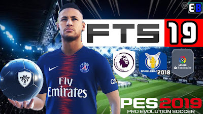 DOWNLOAD FTS 19 MOD PES 19 ANDROID LITE 300 MB APK + DATA