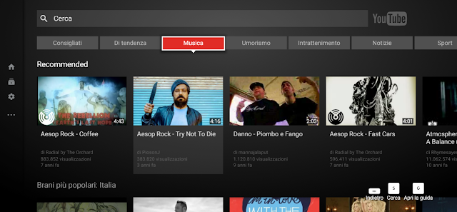 YouTube tv screen-shot