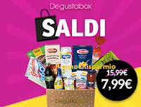 Logo Nuovo codice sconto Degustabox in esclusiva per Promo€Risparmio