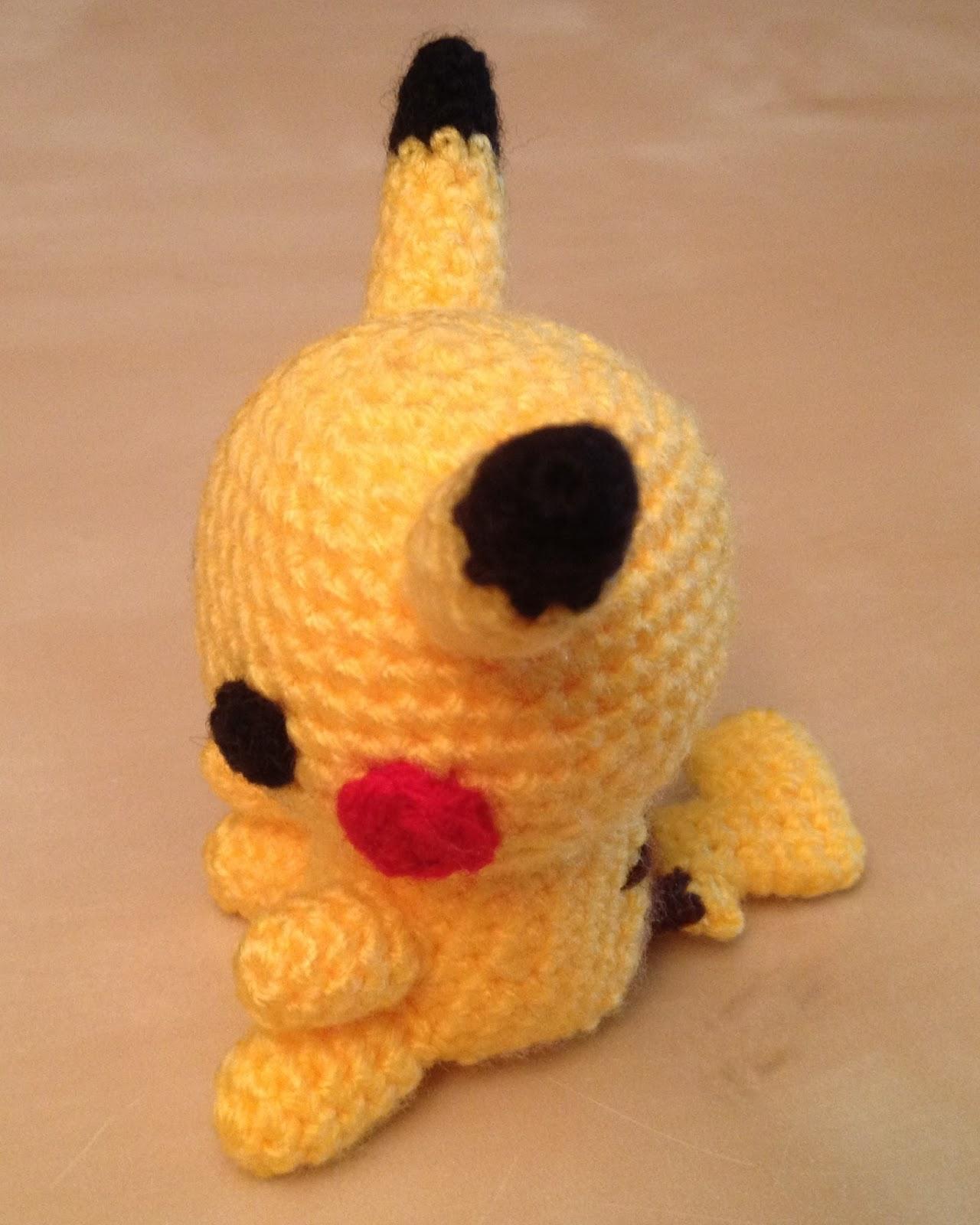 Hannahs Kreativblog Amigurumi Pikachu