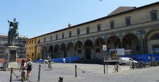 Florencia, Piazza della S. Annunziata.