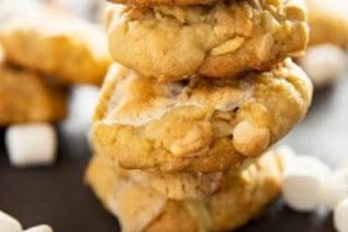 Salty Marshmallow Cookies