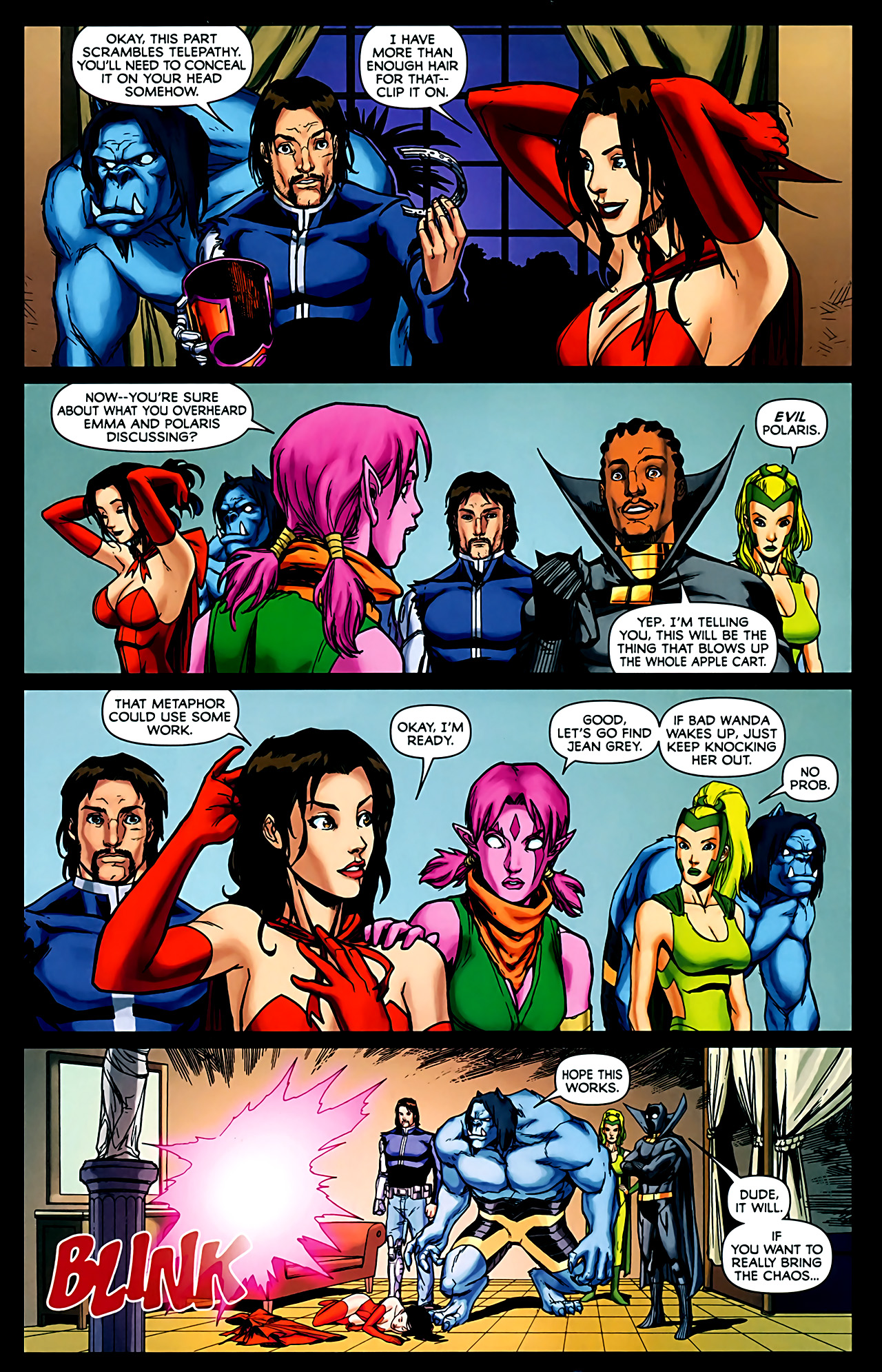 Read online Exiles (2009) comic -  Issue #6 - 5