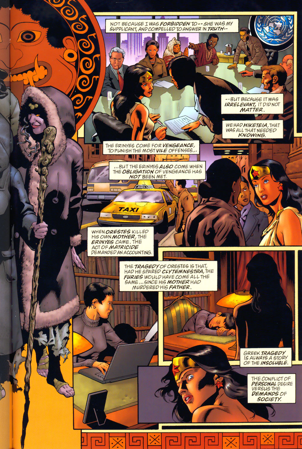 Read online Wonder Woman: The Hiketeia comic -  Issue # Full - 56