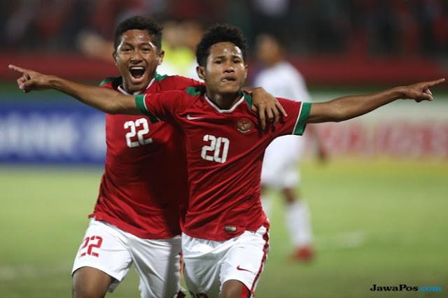 Timnas Indonesia U-16 Melaju ke Final Setelah Kalahkan Malaysia