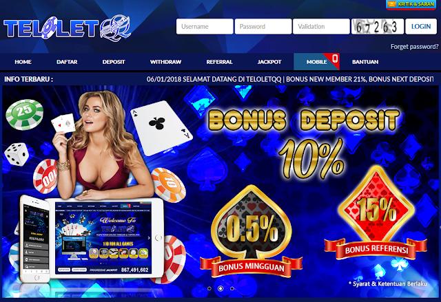 5 Penawaran Spesial Dari Agen Poker Terpercaya TeloletQQ