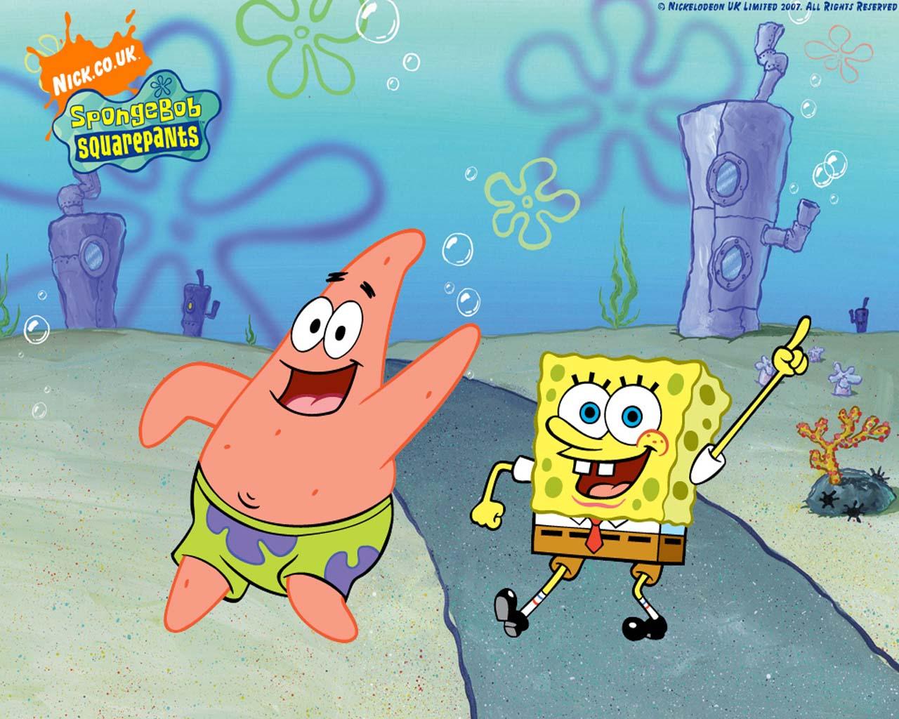 Dancing with Patrick Spongebob Wallpaper | Cute Spongebob ...