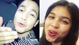 Alden singing a song to Maine and she answers back.