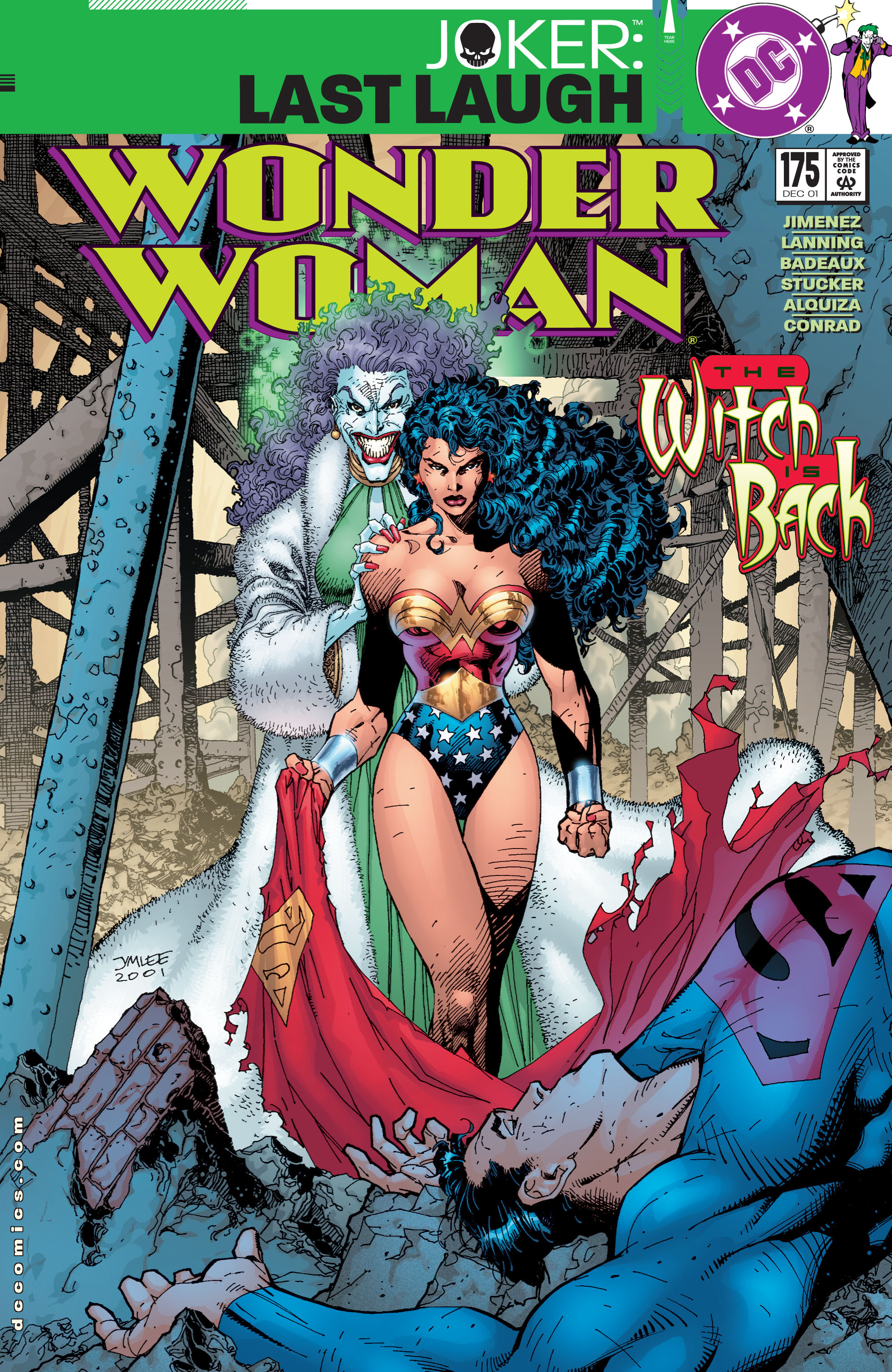 Read online Wonder Woman (1987) comic -  Issue #175 - 1