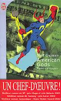 Couverture American Gods Neil Gaiman