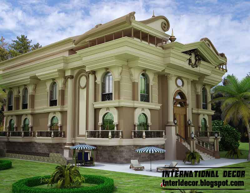 Exterior: International Villa Designs Ideas, Modern Villas Designs