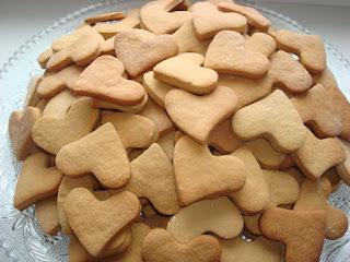 Печенья-сердечки (Самый легкий рецепт!)