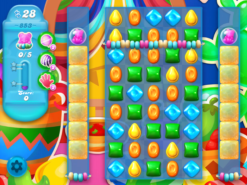 Candy Crush Soda Saga 853