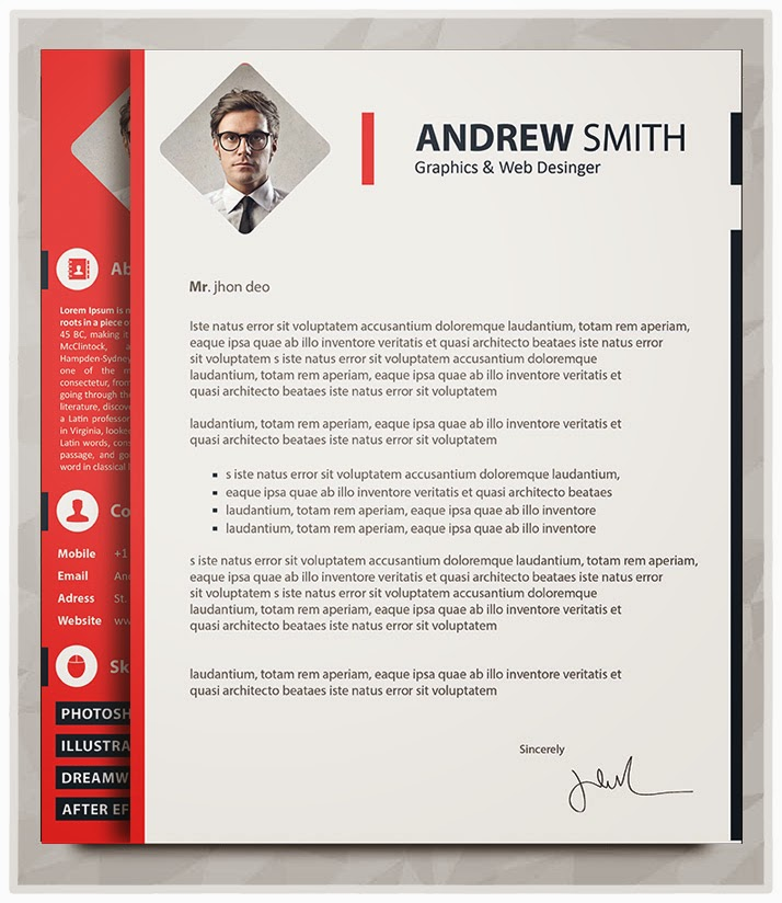 Best Professional Resume Templates PSD AI Word  Free PSD Files Graphic  Web Design