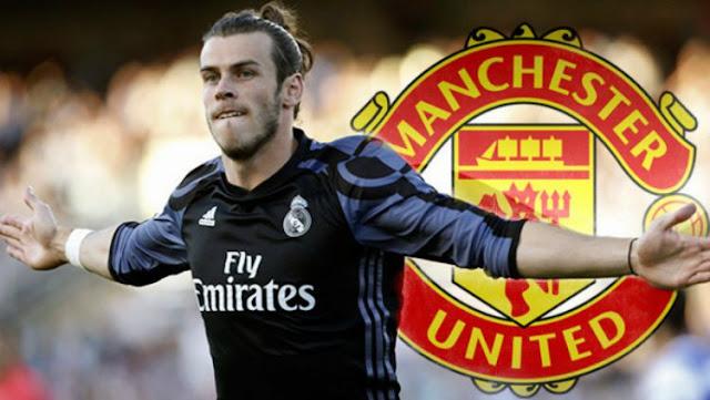 Manchester United (MU) tertarik untuk mendatangkan Gareth Bale ke Old Trafford