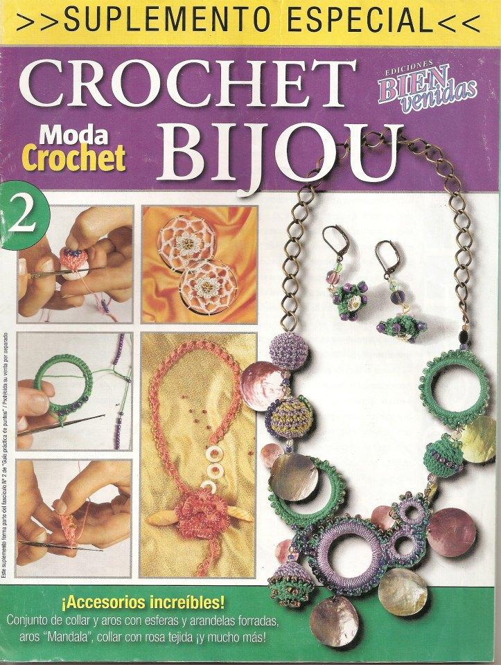 revistas bisutería crochet, revistas, tejer a crochet