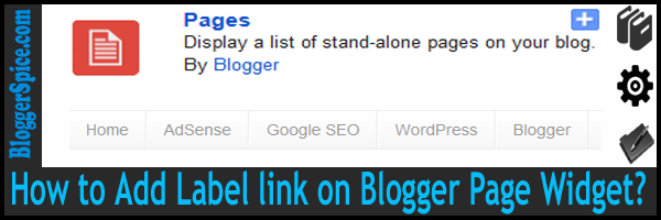pages widget