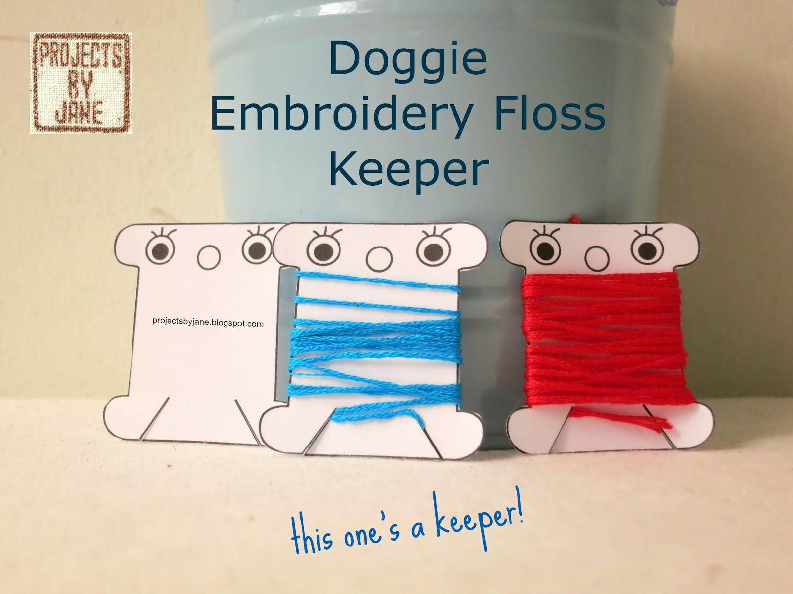 Embroidery Floss Keeper