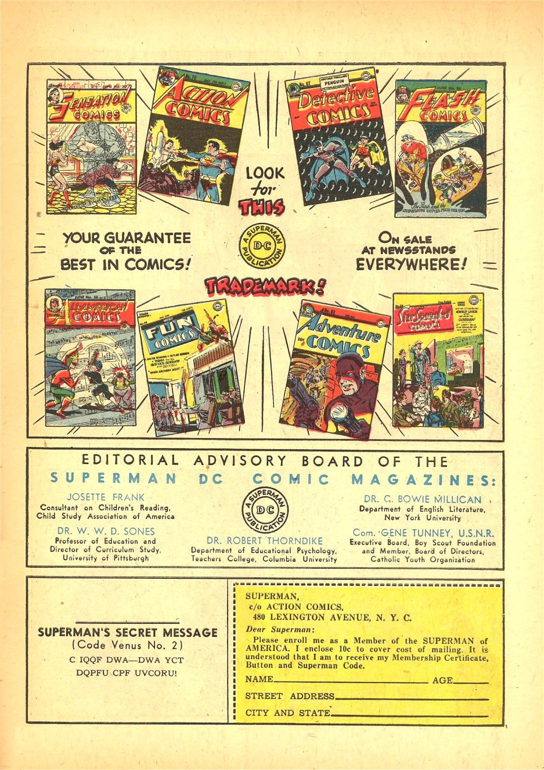 Read online Action Comics (1938) comic -  Issue #72 - 48