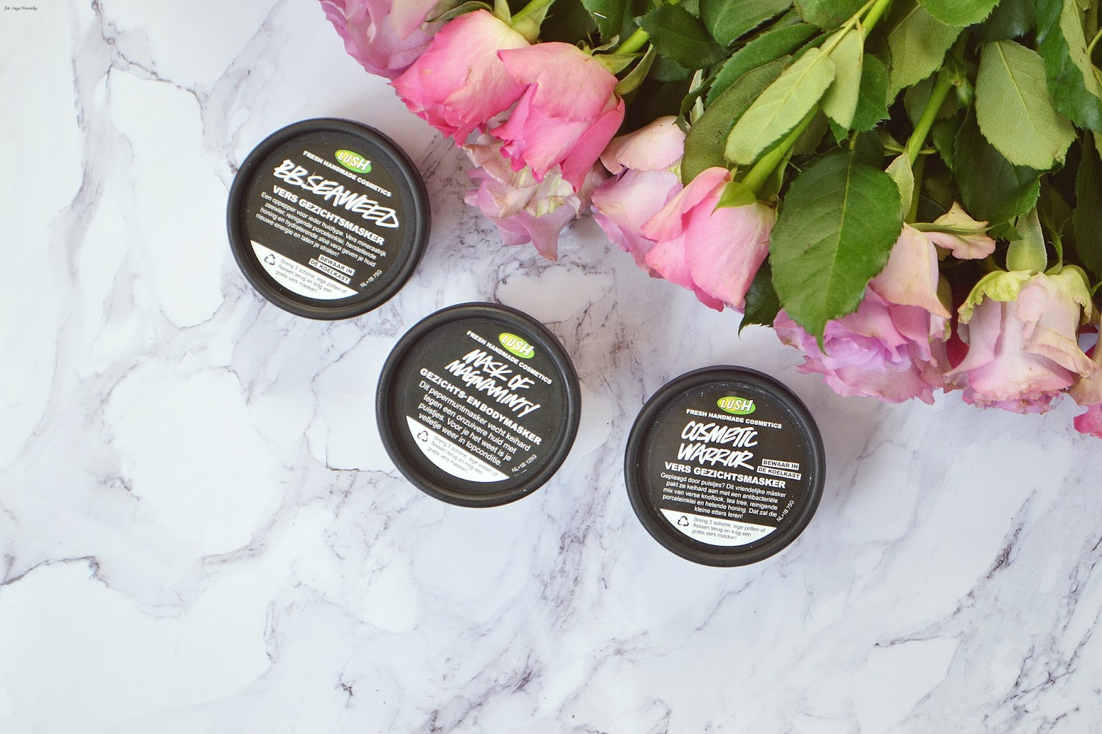 Lush Mask of Mangamity , BBseaweed, Cosmetic Warrior