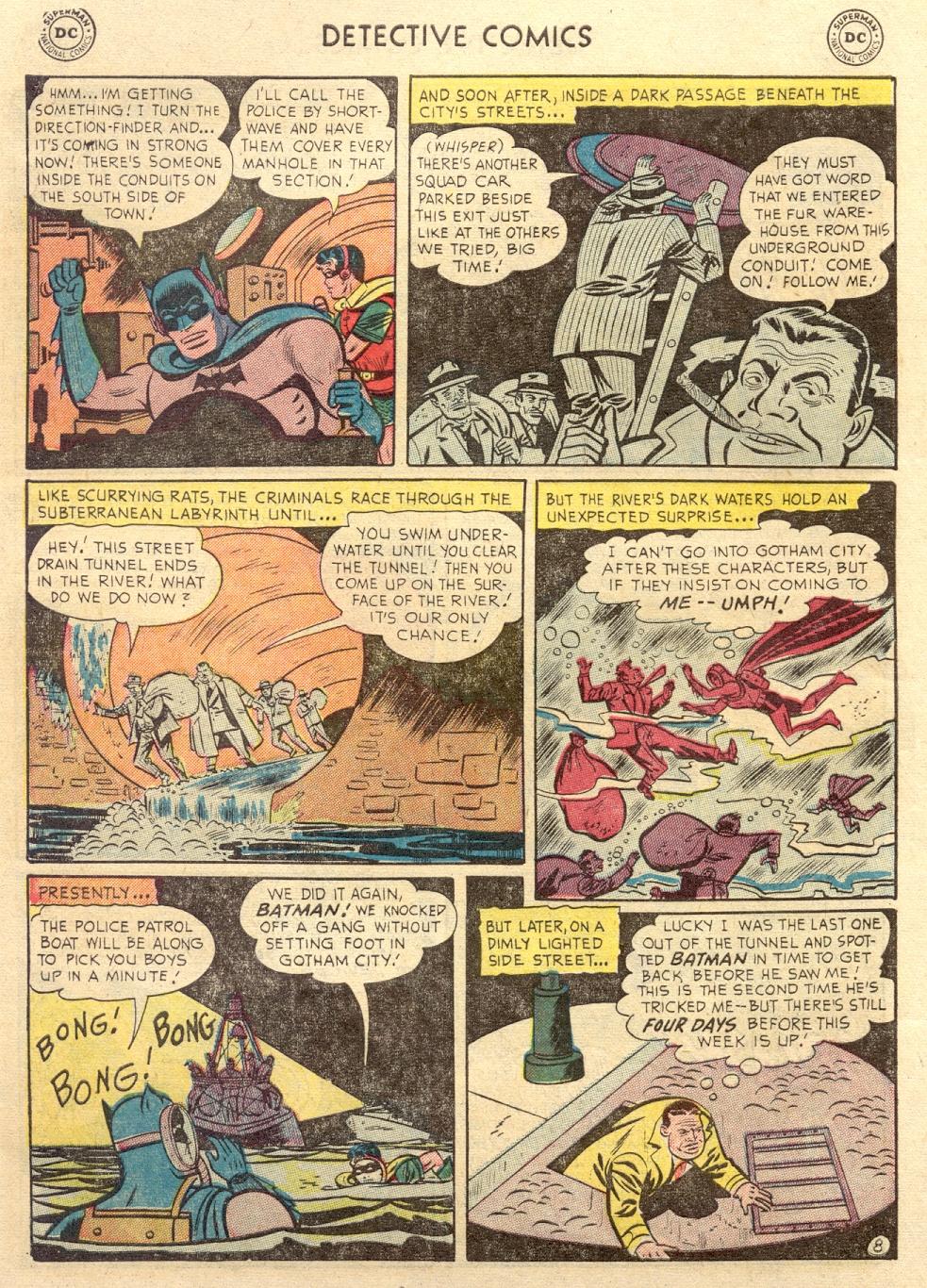 Read online Detective Comics (1937) comic -  Issue #186 - 10