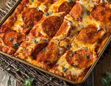 Keto Pizza Bread – Pulls Apart