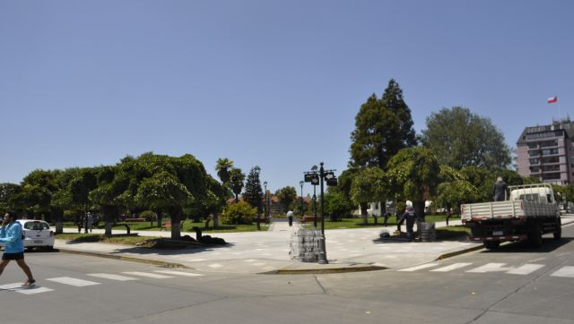 Inauguración de Plaza de Armas de Río Bueno