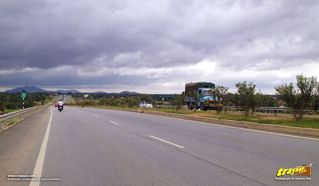 NH 44 (old number NH 7), outskirts of Bengaluru