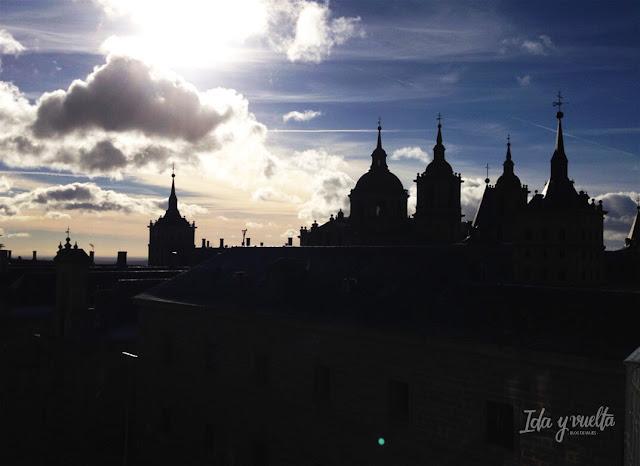 El Escorial silueta del Monasterio