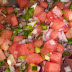NORMAL CHEF: Watermelon salsa and orange pie