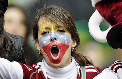 Mujeres venezolanas fútbol