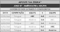 LOTECA 702 - HISTÓRICO JOGO 07